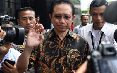 Marzuki Alie Tiba di Sumut, Andi Arief: Ngaku Bukan Pengkhianat