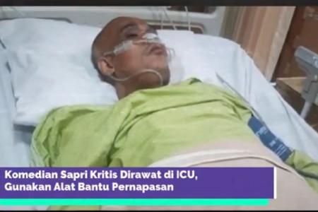 Mohon Doanya, Komedian ini Dilarikan ke ICU, Kondisinya Melemah