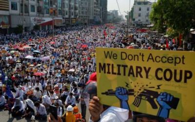 PNS Myanmar Ngambek, Junta Militer Bisa Apa?