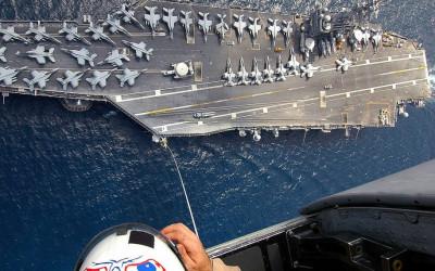 Iran Luar Biasa! Isi Kapal Induk Amerika Dikuliti Habis