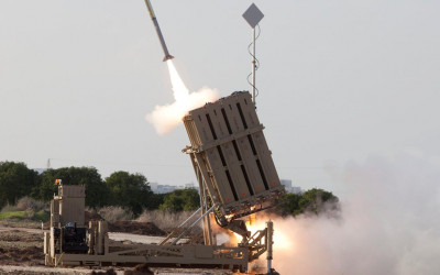 Israel Kena Karma Terus,Iron Dome Gagal Cegat Rudal Suriah