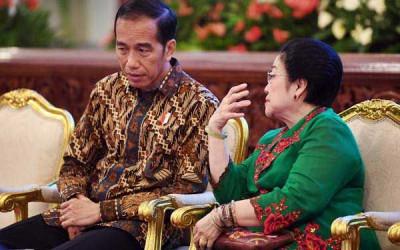 Aroma Reshuffle di Pertemuan Jokowi-Megawati