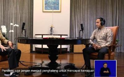 Nadiem Top! Rahasia Presiden Jokowi Dibongkar Saat Podcast