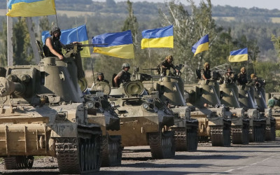Pasukan Pencabut Nyawa Ukraina Bikin Rusia Menganga