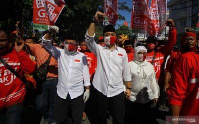 Ini Petuah Dari Paslon yang Unggul Quick Count Pilkada Surabaya