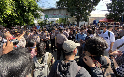 Sidang Lanjutan Habib Rizieq, Pengamanan Polisi Makin Ketat