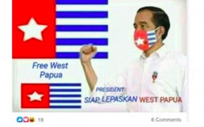 Beredar Isu Jokowi Lepaskan Papua Barat, Hati-Hati Hoaks!