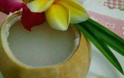 Rajin Minum Air Kelapa, Wanita Bisa Langsing
