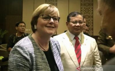 Menhan Prabowo dan Australia dan Bertemu, Hasilnya Pasti Seru