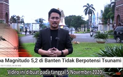 Gempa Banten dan Pandemi Sudah Diramal Sejak 9 Abad yang Lalu