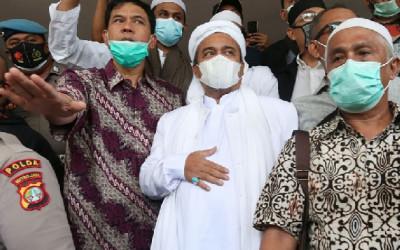 Di Pengadilan Habib Rizieq Mengaku Sangat Terkejut, FPI Ternyata