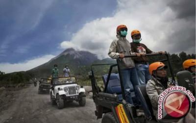 Ratusan Jip Disiapkan Layani Turis Berwisata Lereng Merapi