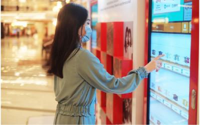 Keren! Masker Kain UMKM Kini Bisa Dibeli Lewat Vending Machine