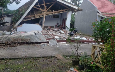 Update Gempa Jatim; 300 Lebih Rumah Rusak Ringan hingga Berat