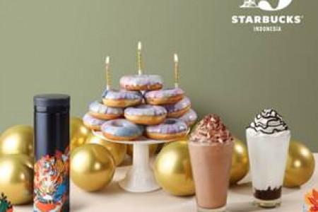Ada 3 Menu Spesial di HUT Starbucks ke-19, Pecinta Kopi Merapat!