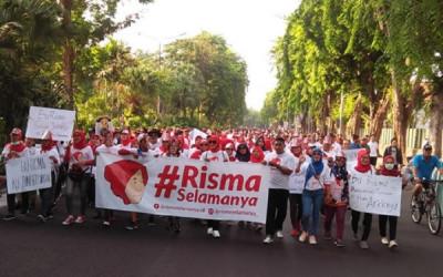 Tri Rismaharini Akan Purnatugas, Surabaya Ingin #RismaSelamanya
