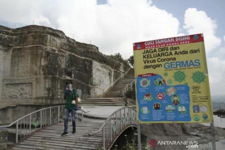 Wisata Tebing Breksi Tingkatkan Pengawasan Prokes