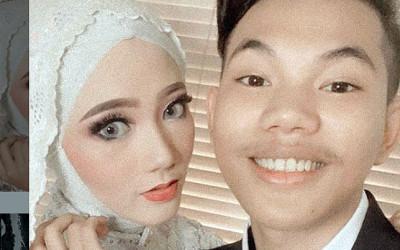 Tegar Hoki Banget, Istrinya Seperti Bidadari Surga