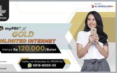 Internetan Pakai Paket myPRIO X Unlimited, Terjangkau Banget