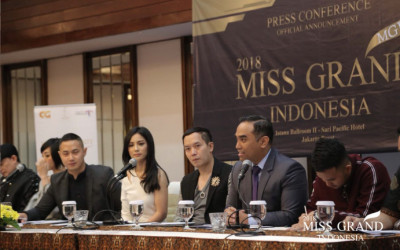 Helatan Perdana Miss Grand Indonesia