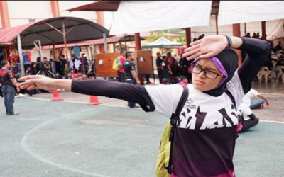 Puspa Arum Sari Merangsek Naik di Voting Atlet
