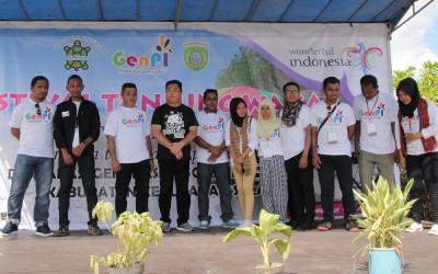 Generasi Milenial Kepulauan Sula Deklarasi Berdirinya GenPI