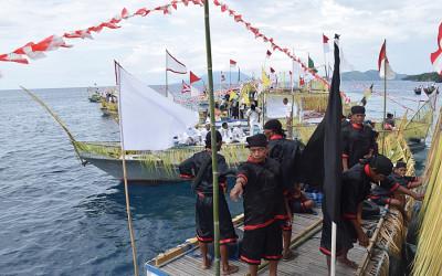 Sajian Budaya Festival Tidore Siap Sapa Wisatawan