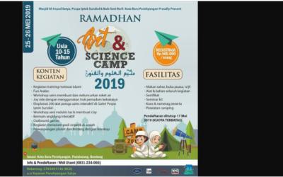 Yuk Ikutan Acara Seru Ramadhan Art & Science Camp 2019