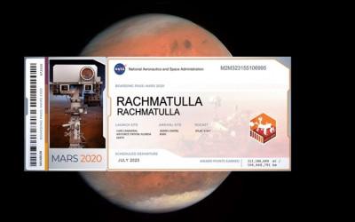 Ingin Nama Kamu Berada di Planet Mars, Ini Caranya!