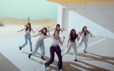MV Fever GFRIEND Tembus Peringkat Puncak Chart Musik Korea