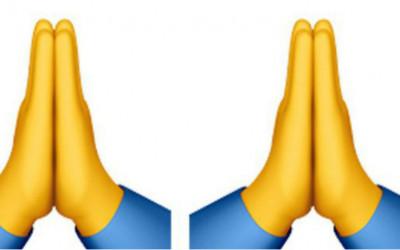 Viral di Twitter Emoji Dua Tangan Bersatu, High Five atau Berdoa?
