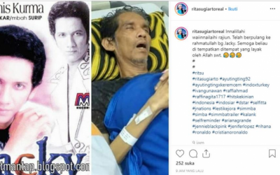 Jacky Zimah, Mantan Suami Rita Sugiarto Meninggal Dunia
