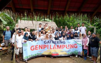 GenPI Lampung Bikin Gathering Seru
