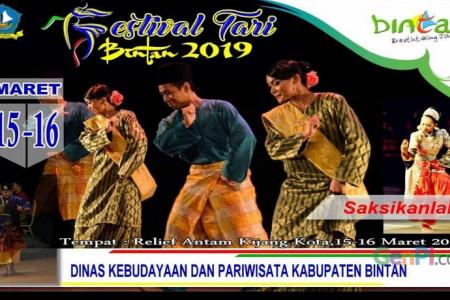 Festival Tari Bintan Angkat Legenda Wisata