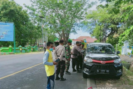 Hari Kedua Larangan Mudik di Situbondo Dilalui 40 Kendaraan