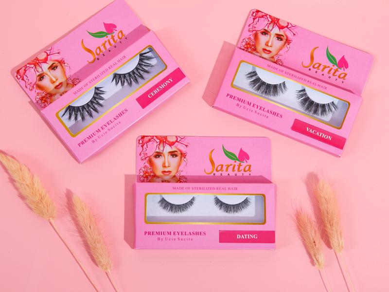 Eyelashes Sarita Beauty. Foto: Sarita Beauty