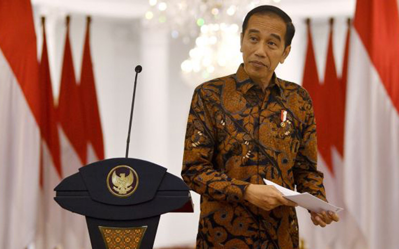 Presiden Jokowi. - ANTARA FOTO/Sigid Kurniawan