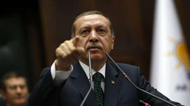 Presiden Turki, Recep Tayyip Erdogan. Foto: Reuters.