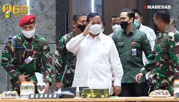 Skenario Maut Prabowo Bikin Bakul Nasi Mafia Alutsista Amburadul (Foto: YouTube/TNIAD)