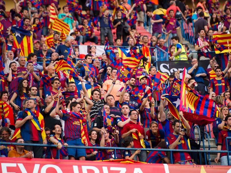 Suporter Barcelona. Foto: Barcelona