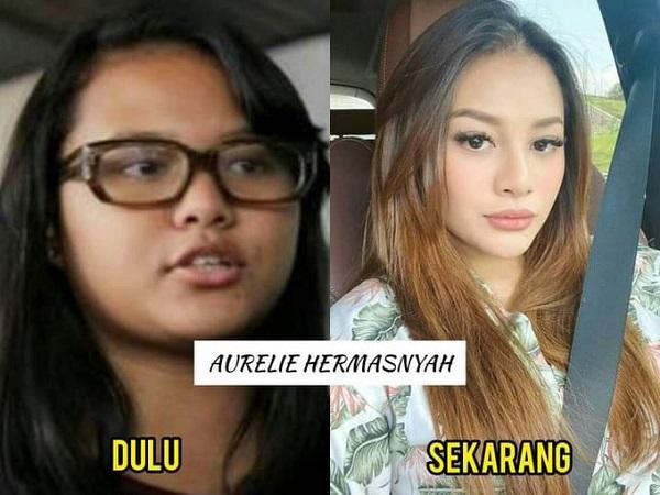 Amanda Manopo vs Aurel Hermansyah, Wajahnya Bikin Pangling!