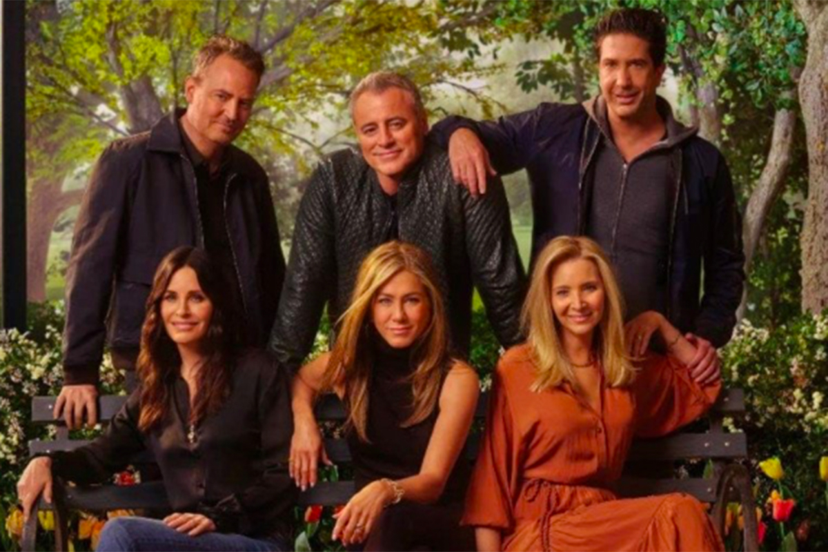Friends: The Reunion. Foto: Antara/HBO Max