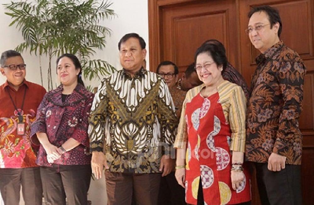 Pertemuan Prabowo dengan Ketum PDIP Megawati Soekarnoputri. (Foto: JPNN.com/GenPI.co)