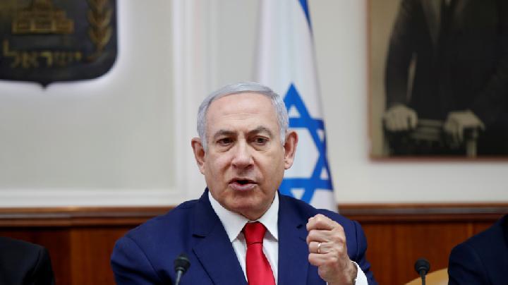 Perdana Menteri Israel, Benjamin Netanyahu. Foto: Reuters/Ronen Zvulun/rt.com.