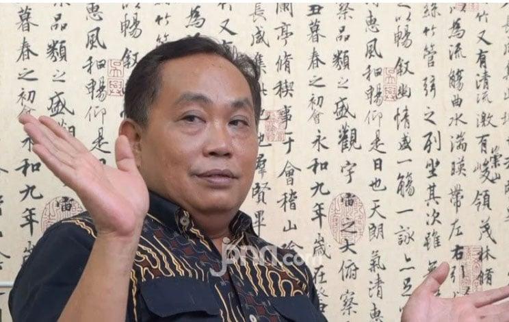 Arief Poyuono Bongkar 3 Orang Setia Jokowi: Inisial L, P, dan M - Politikus Partai Gerindra Arief Poyuono. (foto: JPNN.com/GenPI.co)