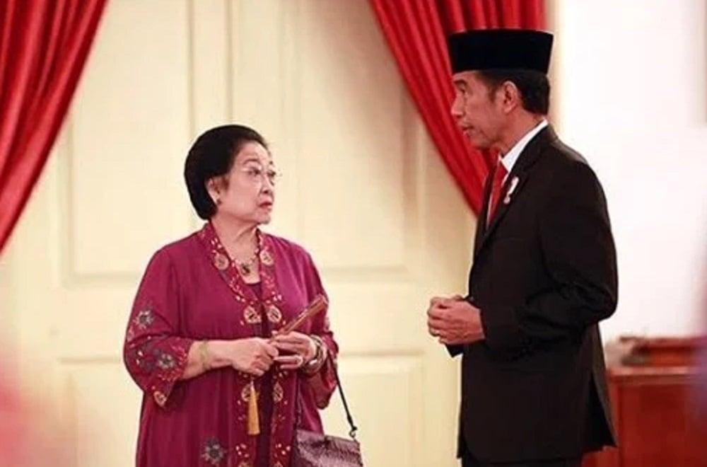 Ketum PDIP Megawai Soekarnoputri bersama Presiden Jokowi di Istana. (Foto: Instagram/jokowi)