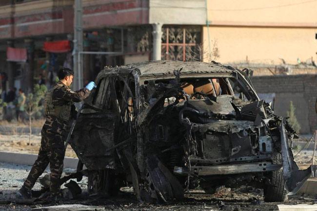 Ilustarsi-Serangan bom makin marak di Afghanistan. Foto: Reuters/Omar Sobhani/re1.