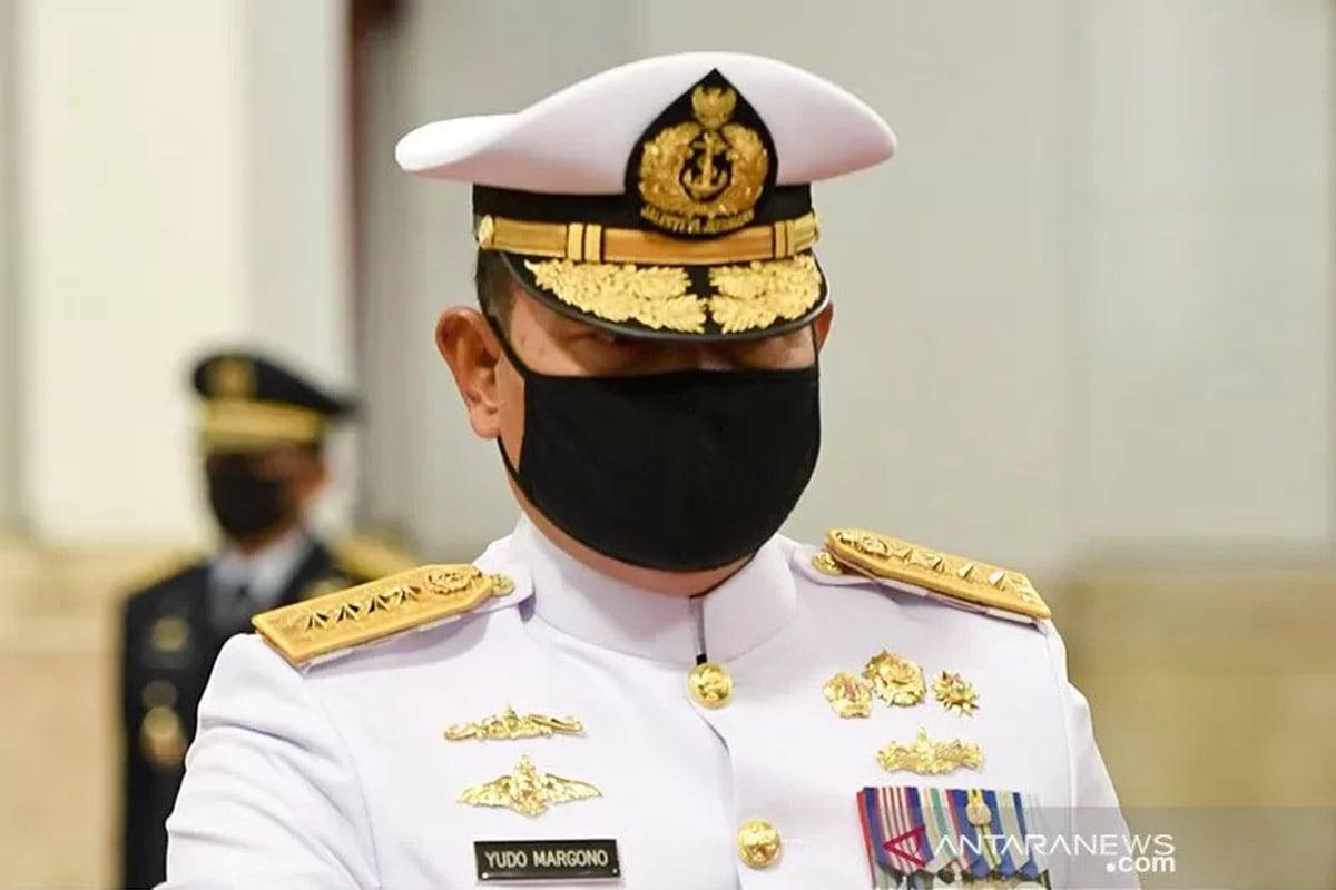 KSAL Laksamana TNI Yudo Margono. Foto: ANTARA FOTO/Hafidz Mubarak