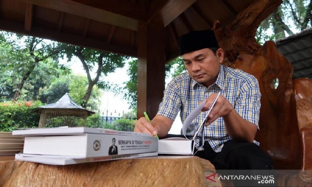 Wakil Ketua DPR RI Azis Syamsuddin. FOTO: Antara