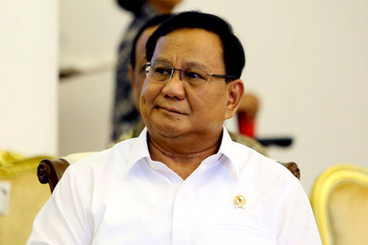 Menteri Pertahanan Prabowo Subianto. Foto: Ricardo/JPNN.com/GenPI.co